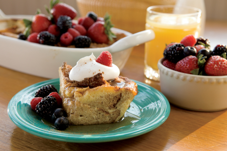 French Toast Casserole with Berries