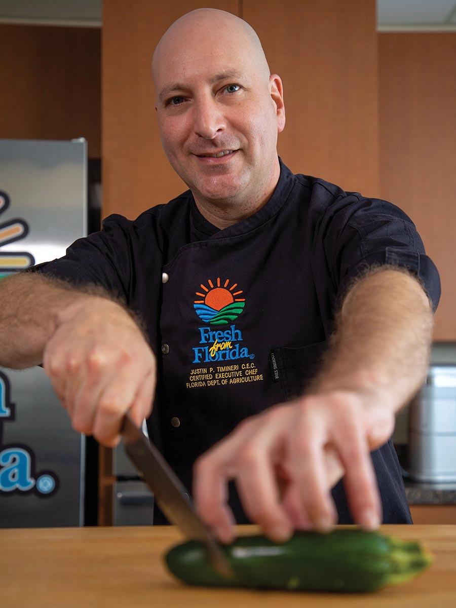 Chef Justin; Florida chefs